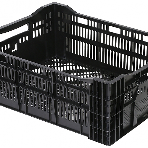 Lilly crate black